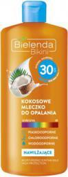 Bielenda Bielenda Bikini SPF30 (W) mleczko kokosowego do opalania 200ml
