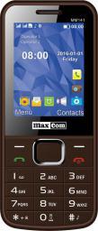 Telefon komórkowy Maxcom MM 141 Brązowy (DualSIM)