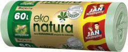 JAN Niezbędny Worki na śmieci Ek0-Natura 60L 20szt. (ZZAJAN242)
