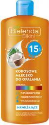 Bielenda BIKINI Kokosowe mleczko do opalania SPF 15 200 ml