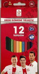 Astra KREDKI OŁÓWKOWE 12 KOLORÓW - PZPN - zakupy dla firm - 312116001