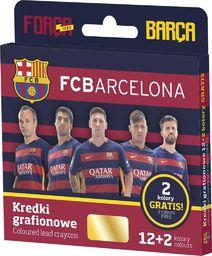 Astra KREDKI GRAFIONOWE 12 KOLORÓW - FC BARCELONA - zakupy dla firm - 316116002