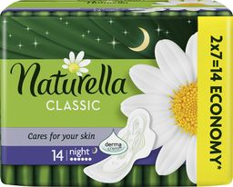 Naturella Podpaski Classic Night Duo 14 szt.