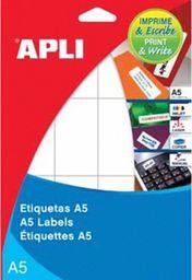 Apli ETYKIETY A5 UNIW. 49 X 100 - zakupy dla firm - AP1881