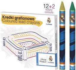 Astra KREDKI GRAFIONOWE 12 KOLORÓW - REAL MADRYT - zakupy dla firm - 316116003