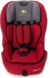 Fotelik samochodowy KinderKraft SAFETY-FIX Czerwony ISOFIX (KKSAFEXREDISFX)