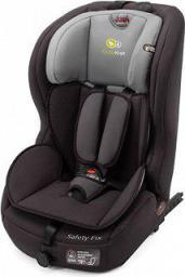 Fotelik samochodowy KinderKraft SAFETY-FIX Czarny ISOFIX (KKSAFEXDBLISFX)