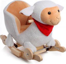 KinderKraft Grająca Owca na biegunach (KKOWCAWHI0000)