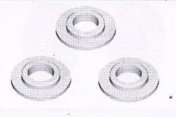 VRX Racing Gear case washer - 3 szt. (VRX/RH5075)