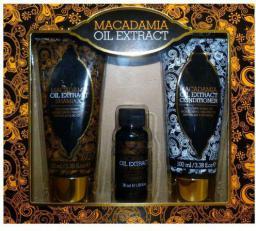 Macadamia Macadamia Oil Extract Kit Zestaw dla kobiet