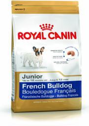 Royal Canin French Bulldog Junior karma sucha dla szczeniąt do 12 miesiąca, rasy bulldog francuski 1 kg