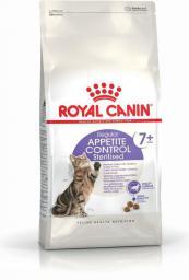 Royal Canin Sterilised Appetite Control +7 karma sucha dla kotów starszych, sterylizowanych, domagających się jedzenia 0.4 kg