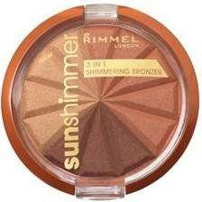 Rimmel  Sun Shimmer 3in1 Shimmering Bronzer Puder 002 Bronze Goddess 9.9g
