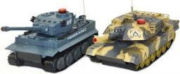 Gimmik Zestaw wzajemnie walczących czołgów German Tiger i Abrams RTR 1:32 (UF/508-10)