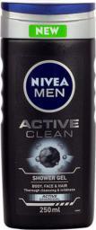Nivea Men Active Clean Shower Gel Żel pod prysznic 250ml
