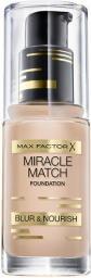 MAX FACTOR Miracle Match Foundation Podkład 45 Warm Almond 30ml
