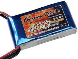 Gens Ace & TATTU 450mAh 11.1V 25C Gens Ace (B-25C-450-3S1P)