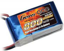 Gens Ace & TATTU 800mAh 11.1V 40C Gens Ace (B-40C-800-3S1P)