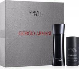 Giorgio Armani Black Code Zestaw dla mężczyzn  EDT 75ml + 75ml deostick