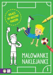 Piłkarskie malowanki-naklejanki cz.1