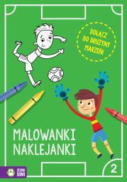Piłkarskie malowanki-naklejanki cz.2