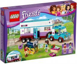 Lego KLOCKI FRIENDS PRZYCZEPA LECZNICZA DLA KONI (41125)