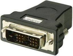 Adapter AV Lindy HDMI - DVI-D Czarny (41228)