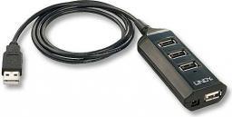 HUB USB LINDY USB 2.0 Hub (42619)