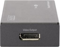 Adapter AV Digitus Repeater DisplayPort - DisplayPort Czarny - DS-52900