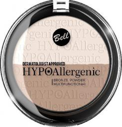 BELL Hypoallergenic Puder brązujący prasowany nr 01  9g