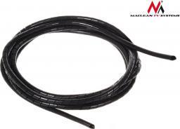 Organizer Maclean Osłona maskująca na kable MCTV-684 B (5*6mm) 3m czarna spirala (MCTV-684)