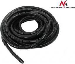 Organizer Maclean Osłona maskująca na kable MCTV-685 B (8.7*10mm) 3m czarna spirala (MCTV-685)