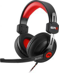 Słuchawki Sharkoon Rush ER2  czarno czerwone
