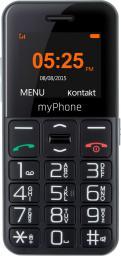 Telefon komórkowy myPhone Halo EASY czarny