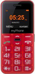 Telefon komórkowy myPhone Halo EASY czerwony