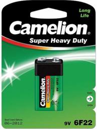 Camelion Super Heavy Duty 9V Bock (6F22)