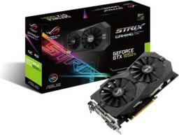Karta graficzna Asus GeForce GTX 1050 TI OC 4GB GDDR5 (128 Bit) 2x DVI-D, HDMI, DP, BOX (STRIX-GTX1050TI-O4G-GAMING)