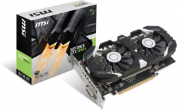 Karta graficzna MSI GeForce GTX 1050 Ti 4GT OC 4GB GDDR5 (128 Bit) HDMI, DVI-D, DP, BOX
