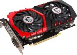 Karta graficzna MSI GeForce GTX 1050 GAMING X 2GB GDDR5 (128 Bit) HDMI, DVI-D, DP, BOX (GTX 1050 GAMING X 2G)