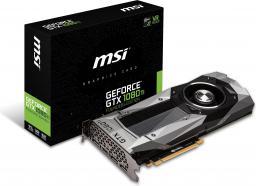 Msi Geforce Gtx 1080 Ti Founders Edition 11gb Gddr5x 352 Bit Hdmi