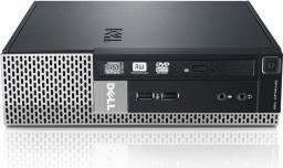 Komputer Dell 790 i3 2100 lub 2120 4GB 250GB Brak napędu + Windows 10 Pro REF (GW)