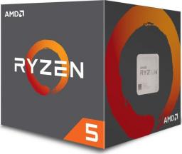 Procesor AMD Ryzen 5 1400, 3.2GHz, 8MB, BOX (YD1400BBAEBOX)