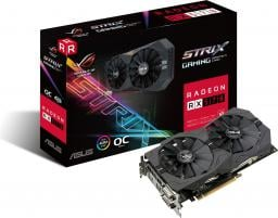 Karta graficzna Asus Radeon RX 570 ROG STRIX 4GB GDDR5 (256 bit), 2xDVI-D, HDMI, DisplayPort, BOX (ROG-STRIX-RX570-O4G-GAMING)