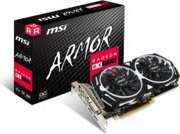 Karta graficzna MSI Radeon RX 570 ARMOR OC 4GB GDDR5 (256 Bit), DVI-D, DP, HDMI, BOX (RX 570 ARMOR 4G OC)