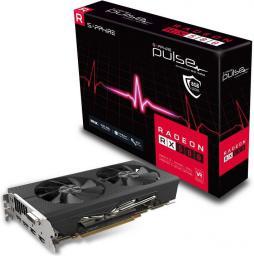 Karta graficzna Sapphire RX 580 PULSE OC, 8GB GDDR5 (256 Bit), DVI-D, 2x DP, 2x HDMI (11265-05-20G)