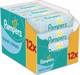 Pampers Fresh Clean Chusteczki 12 x 64