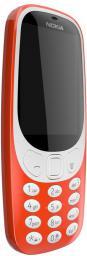 Telefon komórkowy Nokia 3310 RED (Dual SIM)