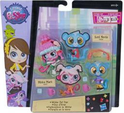 Hasbro Littlest Pet Shop Modne Zwierzaki - Winter Pet Pair (B0923)