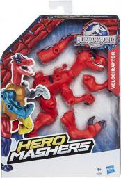 Hasbro Jurassic World Hero Mashers Velociraptor czerwony (B2160)