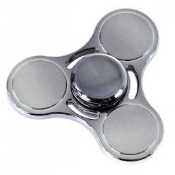INNI Fidget spinner metalowy potrójny 4 kolory mix